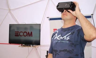 La experiencia de Realidad Virtual deslumbra a los visitantes de la Bienal