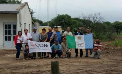 Chaco más conectado: Tres Mojones ya cuenta con servicio de internet